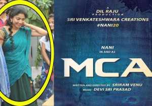 MCAలో కిర్రాక్ లుక్....మళ్ళీ భానుమతిలాగే...
