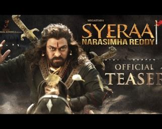 Sye Raa Narasimha Reddy Official Teaser