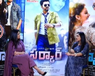 Varalakshmi Interview @Sarkar Movie