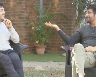 Nagarjuna And Akhil Funny Interview About Mr. Majnu Movie