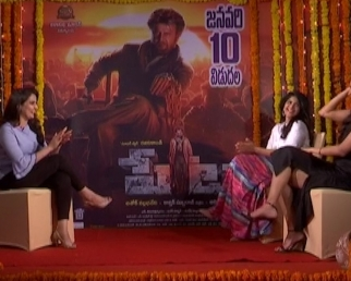 Petta Movie Heroines Interview