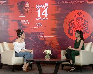 Actress Tapsee Interview About Game Over