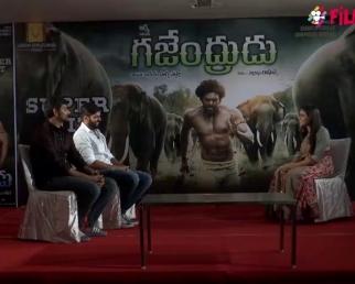 Gajendrudu Movie Team Interview  Arya  Catherine Tresa