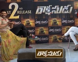 Bellamkonda Srinivas Funny Comments On Anupama Parameswaran At Rakshasudu Movie Interview