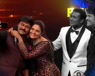 Bigg Boss Telugu 3 : Sreemukhi Stands As Runner Up & Clicks Selfie With Chiranjeevi