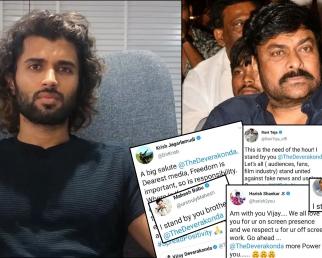 Tollywood Stars Unbelievable Support To Vihayy Devarakonda | Filmibeat Telugu
