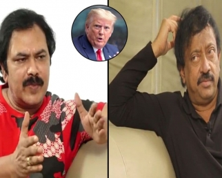 RGV Gives Clarity On  Making Donald Trump Biopic