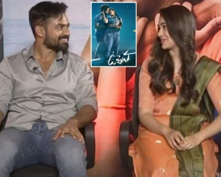 Vaishnav Tej Praises Krithi Shetty   Uppena Movie Team Interview