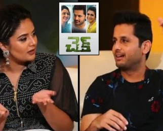 Nithin About His Mood Swings During Check Shooting