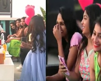 Date With Akhil Tour | Akhil Interaction With Crazy Girls