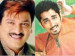 Rajendra Prasad With Crazy Star Siddharth