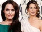 Jolie Sandra Most Charitable Mums Hollywood Aid