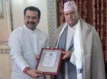 Chinni Krishna Gets Award Films On Himalayas