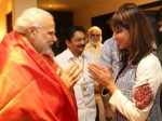 Lakshmi Rejoices As Modi Follows Her