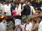 Srihari S Body Brought Hyderabad Celebs Pay Last Respect