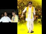 Pawan Kalyan Wears Telugu Desam Kanduva