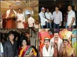 Celeb At Raja Ravindra S Daughter Wedding