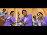 Sudha Entertains Nris With Dance