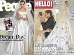 Angelina Jolie Brad Pitt Wedding Pics Out Checkout The Bride
