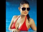 Heroine Amisha Patel In Hot Swim Suit