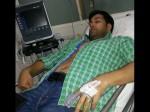 Actor Aakash Hospitalized