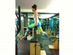 Deepika Padukone Working Out At The Gym