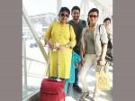 Naga Chaitanya Shruti Haasan At Chennai Airport