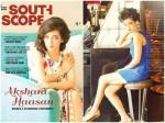 Akshara Haasan S Stunning Photoshoot For South Scope Magazine