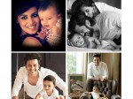 Unseen Adorable Pics Of Riteish Genelia S Son Riaan 046407 Pg