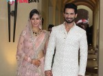 Shahid Kapoor Mira Rajput S First Appearance After Wedding