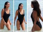 Selena Gomez Slips Into Bikini On Miami Beach Shows Om T