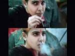 Samantha S Smoking Re Tweet Invites Trouble