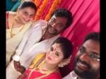 Bobby Simha Reshmi Menon S Engagement