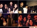 Tollywood Celebrities Party At Brahmaji S House Spot Rakul Rana Regina Varun Sdt Many