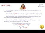 Anushka S Open Letter About Size Zero