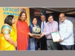 Etv Andhrapradesh Receives Unicef Award