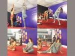 Shilpa Shetty And Baba Ramdev S Crazy Yoga Session