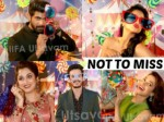 Tollywood Celebrities Fun At Iifa Utsavam Photobooth