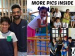 Photos See How Mahesh Babu S Kids Are Enjoying Their Summer Break