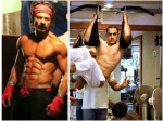Bollywood Actors Body Fitness Workout At Gym