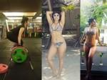 Hot Singer Neha Bhasin Flaunts Her Bikini Body