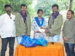 Ram Lakshman Donated One Lakh Sphoorthi Jyothi Foundation