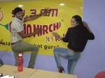 Rashmi Tanu Vacchenanta Team At Vijayawada
