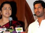 Raadika Lashes At Vishal Karthi Suspending Sarathkumar