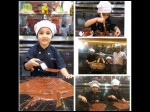 Superstar Mahesh Babu Daughter Sitara Making Chocolate