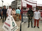 Actor Brahmaji At Wagah Border