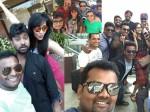 Anasuya Latest Pics With Jabardasth Team At Goa