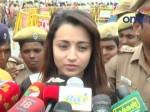 Trisha S Mother Seeks Police Protection Trisha Over Jallikat