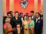 Super Star Salman Khan Attends The Wedding His Driver S Son