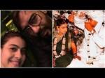 Kajol Ajay Devgn Share Selfie On Their 18th Wedding Anniver